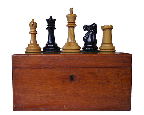 Jaques Staunton Chess Set, Late 1920s-30s