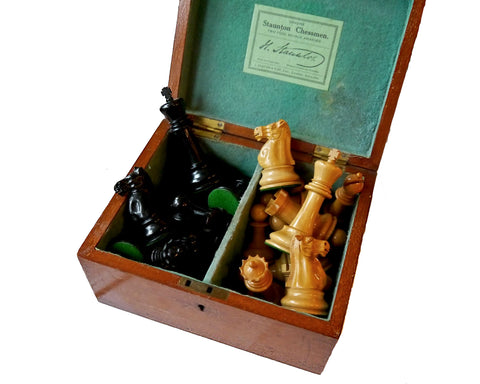 jaques staunton chess set