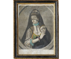 The Fair Nun Unmasked, Mezzotint, 1769.