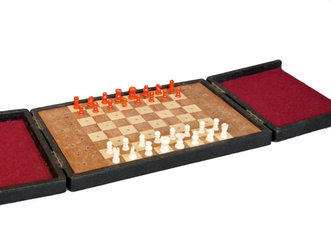 Travelling Chess Set, Early 20th century