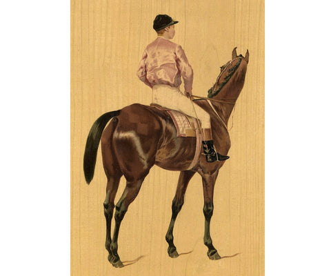 horse racing equestrian antiques prints