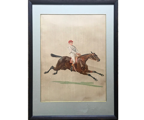 Four Racing Prints after Bodoy, circa 1880