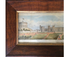 Panoramic View of Windsor Castle, circa 1840