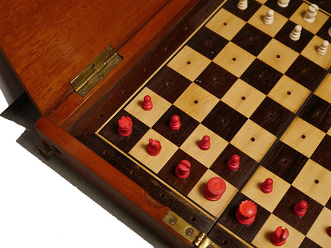 """Whittington Pattern"" Chess Set, circa 1890"