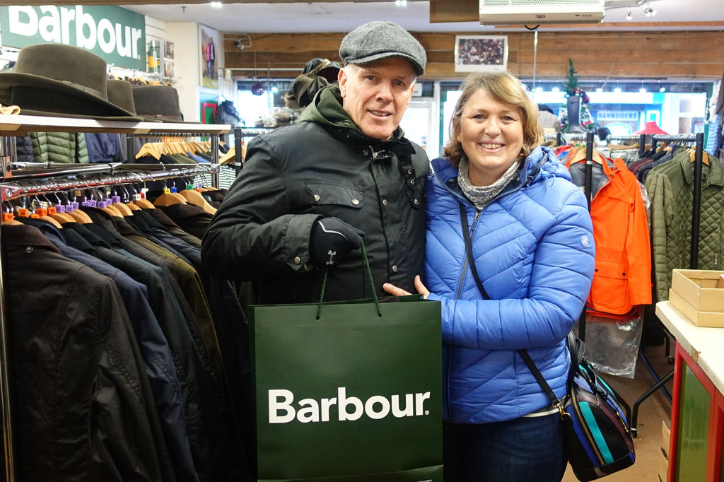 Barbour to keep you warm and dry in CANADA
