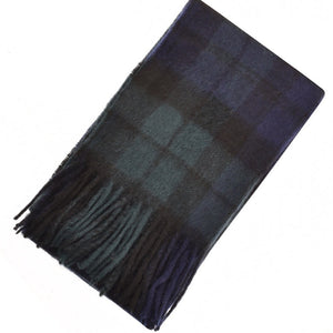 Barbour Scarf and Glove Gift Set-Navy Blackwatch Tartan-MAC0042NY91