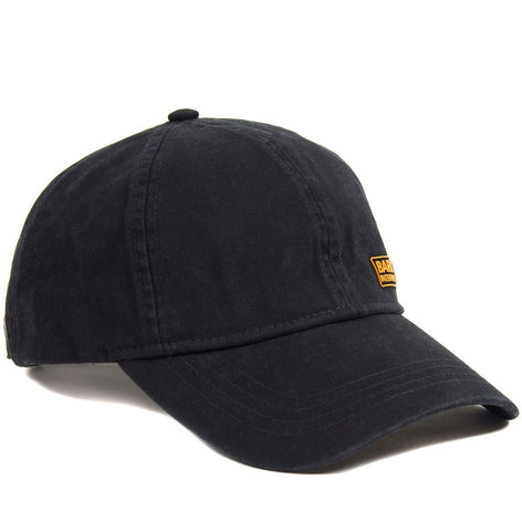 Barbour Cap International baseball Norton Drill Black MHA0474BK111