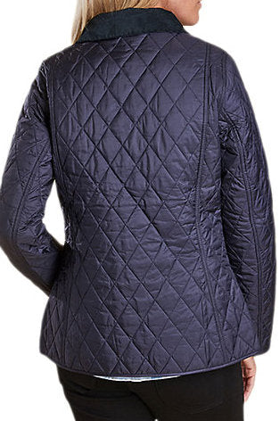 Barbour  Ladies Annandale Quilted jacket in Navy LQU0475NY91