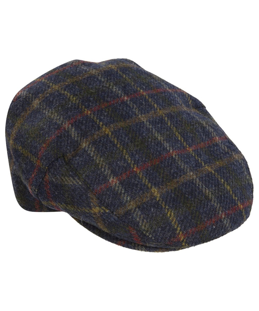 Barbour Cap Moons tweed Flat Cap in Navy MHA0295NY35 - Smyths Country Sports 03a5a16d598