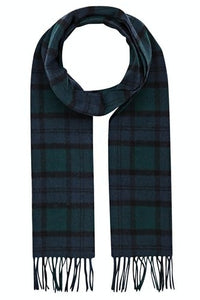 Barbour Scarf-Blackwatch-Tartan-Lambswool-Scarf-USC0001NY91