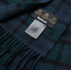 Barbour Scarf-Blackwatch-Tartan-Lambswool-Scarf-USC0001NY91 check