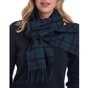 Barbour Scarf-Blackwatch-Tartan-Lambswool-Scarf-USC0001NY91 lady