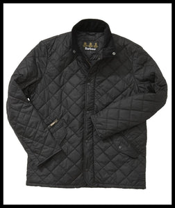 Barbour mens black Chelsea sportsquilt jacket