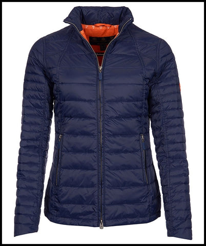 Barbour Chock Ladies Quilt in NAVY LQU0698NY71