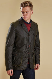 Barbour Beacon-James Bond-Wax Sports Jacket-Olive-MWX0007OL71 Beacon