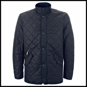 Barbour mens navy Chelsea sportsquilt jacket