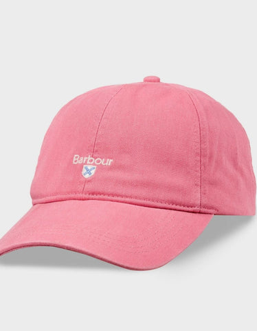 Barbour Cap baseball Cascade Sports in Dusty Pink MHA0274PI711