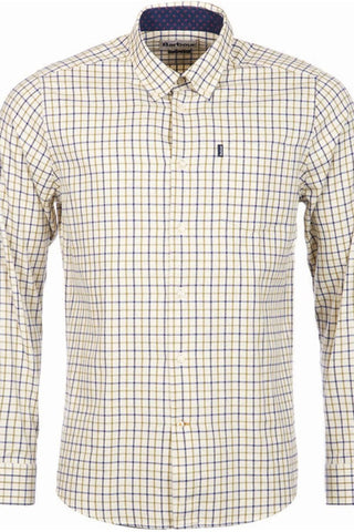 Barbour shirt Ethan Tailored Regular fit shirt in Navy/Olive MSH4066NY91