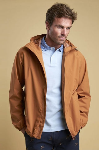 Barbour Irvine mens jacket in Cinder MWB0605OR51