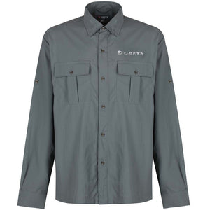 Greys-Fishing Shirt-Lightweight-Breathable-Colour Carbon-14363