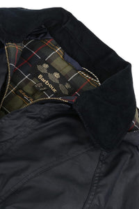 Barbour Bower Ladies Wax Jacket - Navy - LWX0534NY92 classic