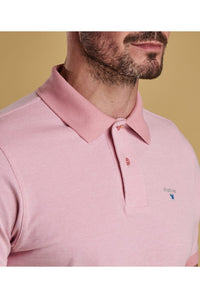 Barbour Polo Sports-Mix-Dusty Pink- MML0628PI14 collar