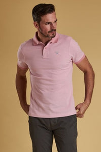 Barbour Polo-Mens Pique Shirt-Dusty Pink-MML0628PI14