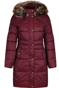 Barbour Quilt-Caldbeck-New Ladies-Bordeaux-LQU1080RE75 warm