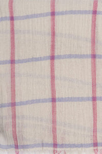 Barbour Scarf-Windowpane-Country Wrap-LSC0277SN15 pattern