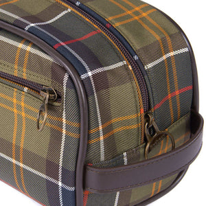 Barbour Washbag-Classic Tartan-MAC0396TN11 side