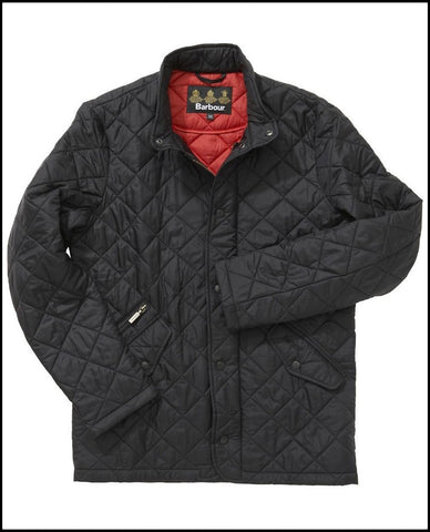 Barbour Chelsea Flyweight Sportsquilt in Black MQU0007BK91