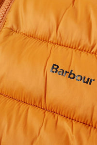 Barbour Bretby-Gilet-Orange Marmalade-MGI0024OR51 logo