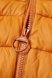 Barbour Bretby-Gilet-Orange Marmalade-MGI0024OR51 zip