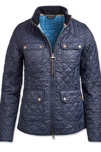 Barbour Bowfell-Ladies Quilt-Navy-LQU1028NY71 blue