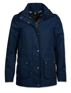 Barbour Stoat-Ladies Waterproof Jacket-Navy- LWB0532NY51