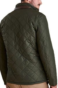 Barbour Powell Mens Quilted jacket -Sage/Olive-New