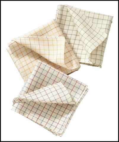 Barbour Tattersall check Handkerchiefs set of three great colours
