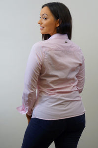 Barbour Ladies Shirt-Portsdown-Pale Pink-LSH1206PI35 back