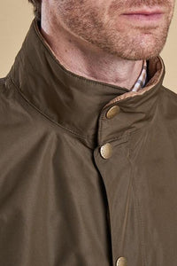 Barbour mens Spoonbill  jacket in Dark Olive MWB0541OL71