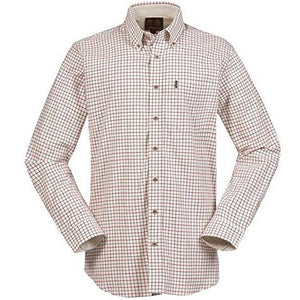Musto Shirt-Classic Button Down Collar-Field Check Red-CS1640