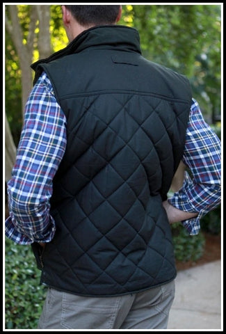 Barbour Gilet Boxley Quilted in Black MQU0809