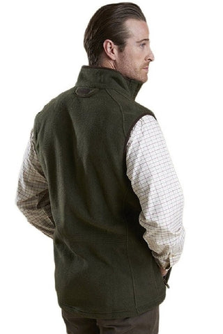 Barbour Langdale Men's Gilet in Olive Green MFL0079OL71