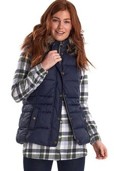 Barbour Gilet-Ullswater Ladies Gilet-Navy-LGI0029NY71