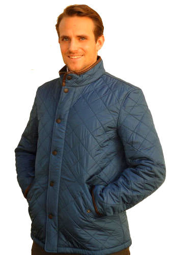 670da49133ed Barbour Powell Quilt Jacket - Blue Steel - Smyths Country Sports