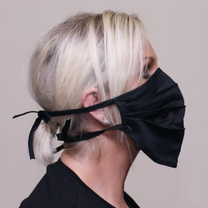 PPE-Face Masks-Fabric-Reusable-Made Locally-Black side