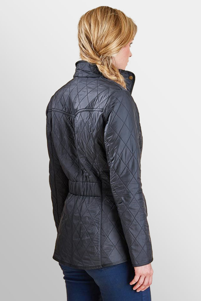 Barbour Cavalry Polarquilt Ladies Jacket Navy