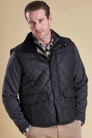 Barbour Gilet Boxley Quilted in Black MQU0809BK91