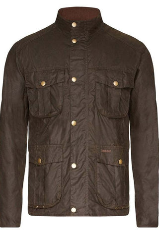 Barbour New Wax Jacket in Olive MWX0827OL71