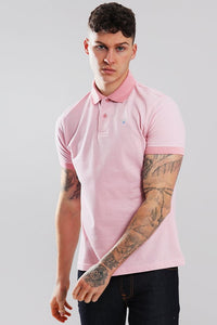Barbour Polo Sports-Mix-Dusty Pink- MML0628PI14 arms