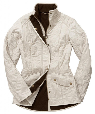 Barbour Cavalry Ladies Pearl Polarquilt Jacket